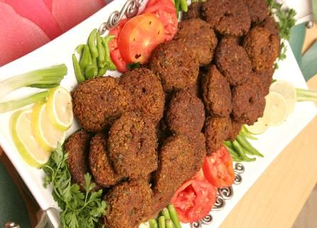 """Persian food, """"kotlet"""" or """"shami"""" you can eat with rice or bread. :)"""