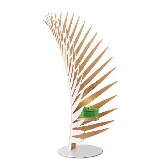 Kullattu palmu -tuikkivasomiste 29,90€ k 26cm Metallia, Tuikkivalle