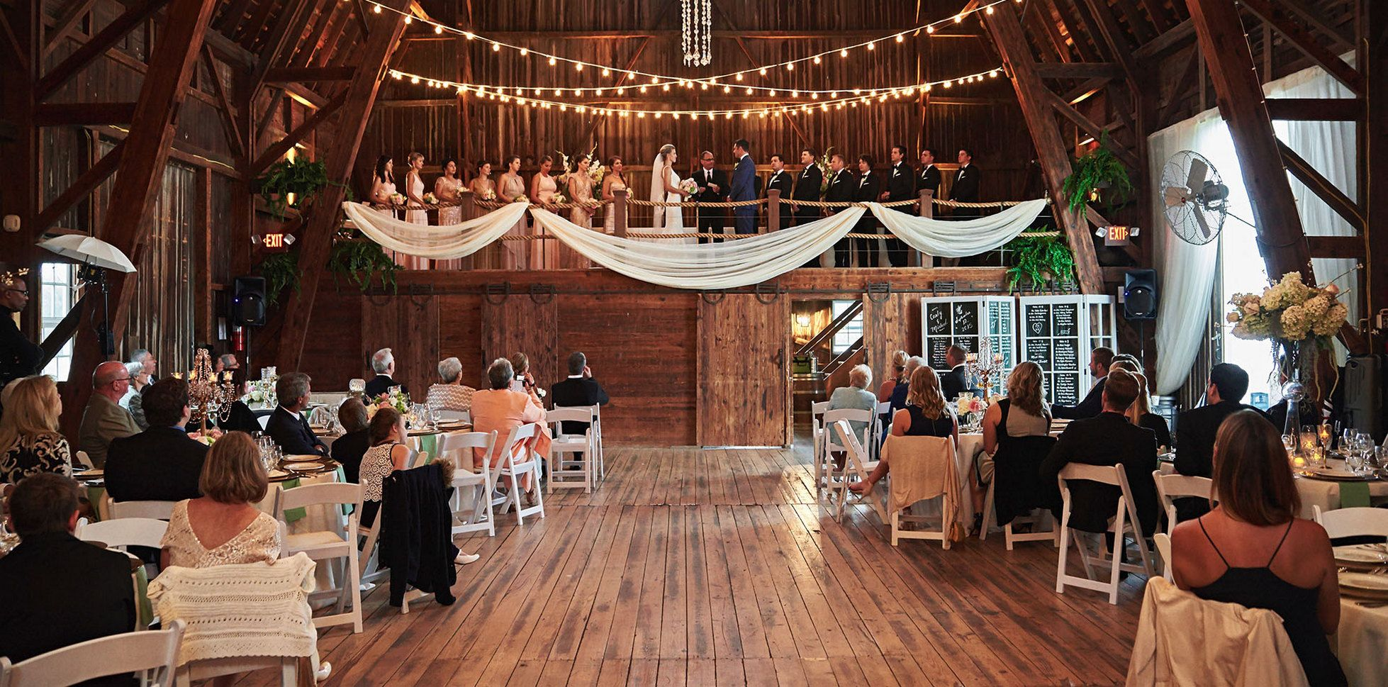 At a glance the concept of Wedding Barn is similar to ...