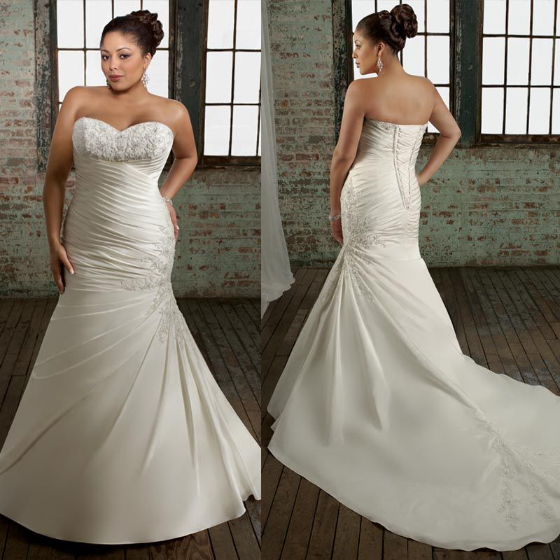 Httpdyalplus Size Wedding Dresses Impressive Mermaid Style