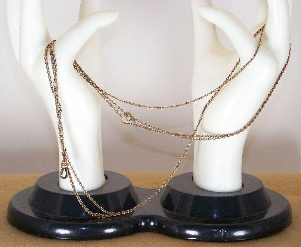 Victorian Opal Slide Watch Chain W&SB