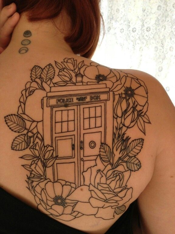 Doctor Who Tattoo Flash