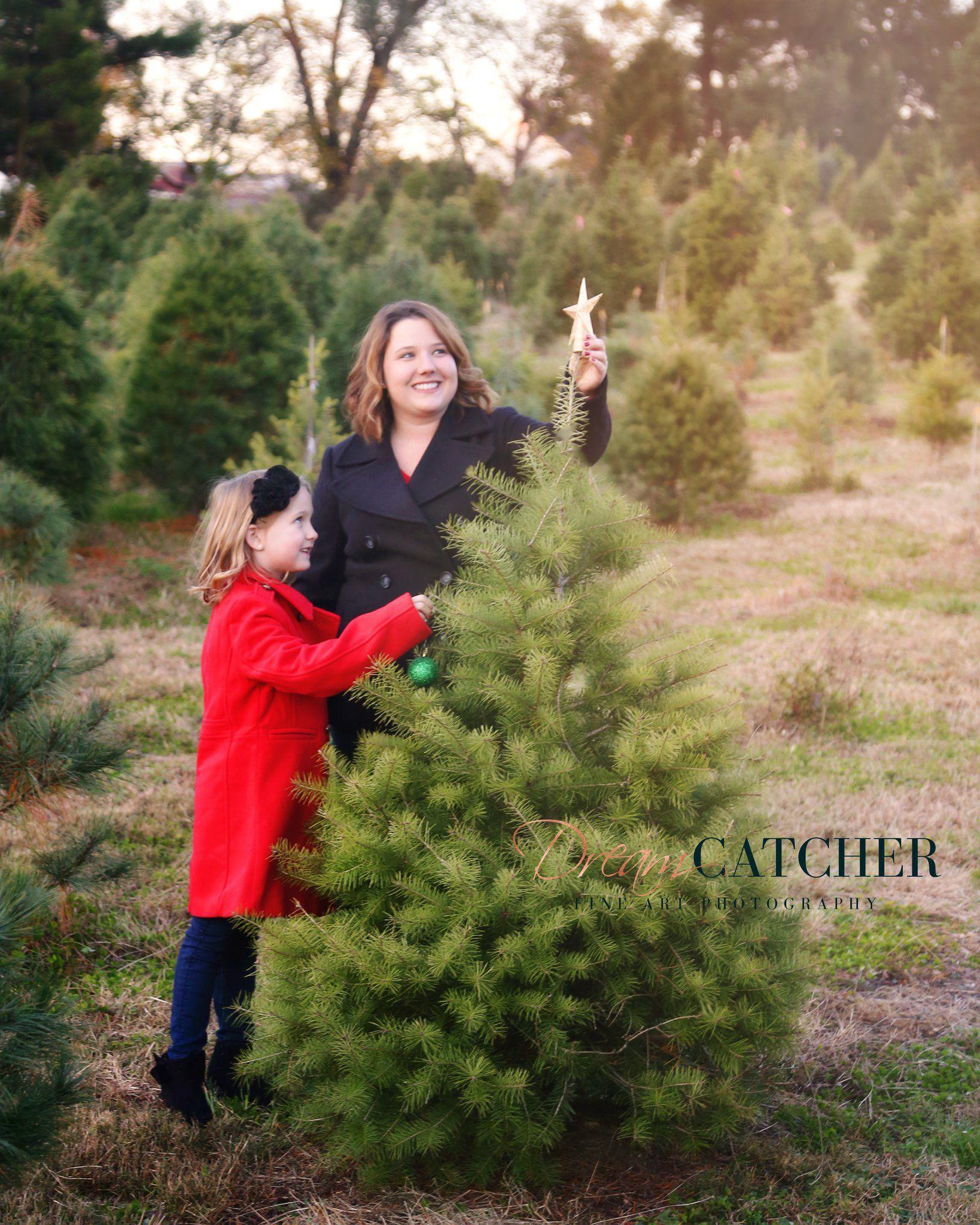 Mommy & Me Christmas Tree Farm Mini Session Christmas