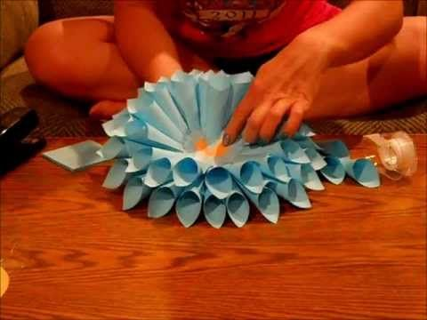How to make a paper flower using post it notes triedd how to make a paper flower using post it notes mightylinksfo