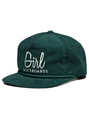 Girl  Skateboards Century Micro Cord Adjustable  Hat  21.99  d8751df0cce