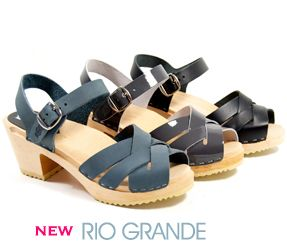 The Rio Grande is perhaps what most people think make up Swedish clogs, and we think that they are excellent additions to the Ugglebo Clogs collection. The Rio Grande Swedish clogs are really cute summer sandals for everyday use. #clogs #Ugglebo