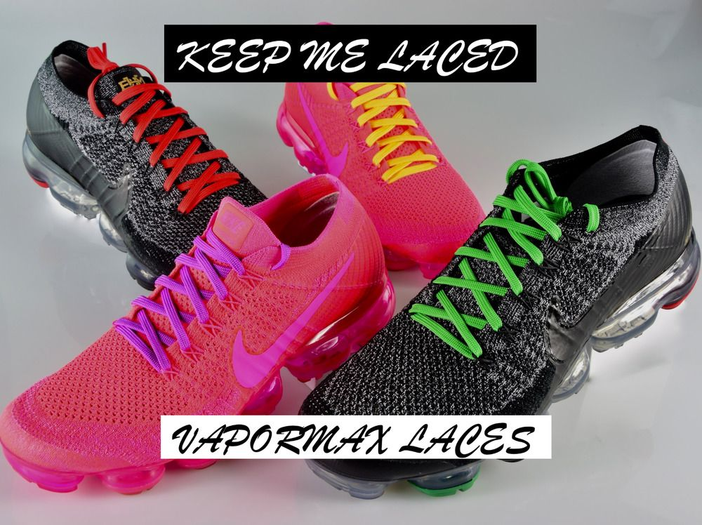 VAPORMAX FLAT REPLACEMENT SHOELACES NEW FOR NIKE SHOES Laces BUY 2 GET 1 FREE