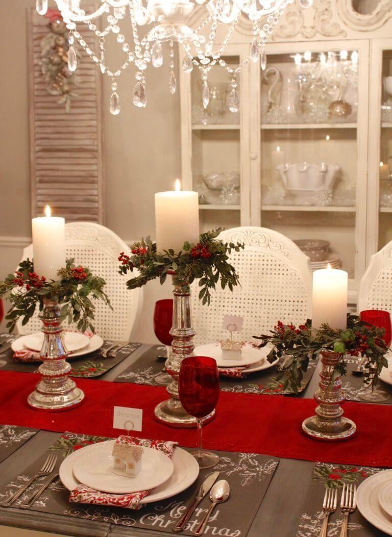 Mehr als 40 rote Weihnachtsdekor-Ideen, um jeden in den Urlaub zu bringen – Hause Dekore