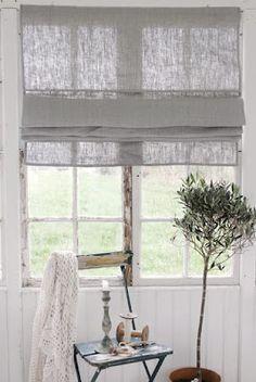 Vintage-Gardine im romantischen Look #gardine #dekoration #wohnen – deko