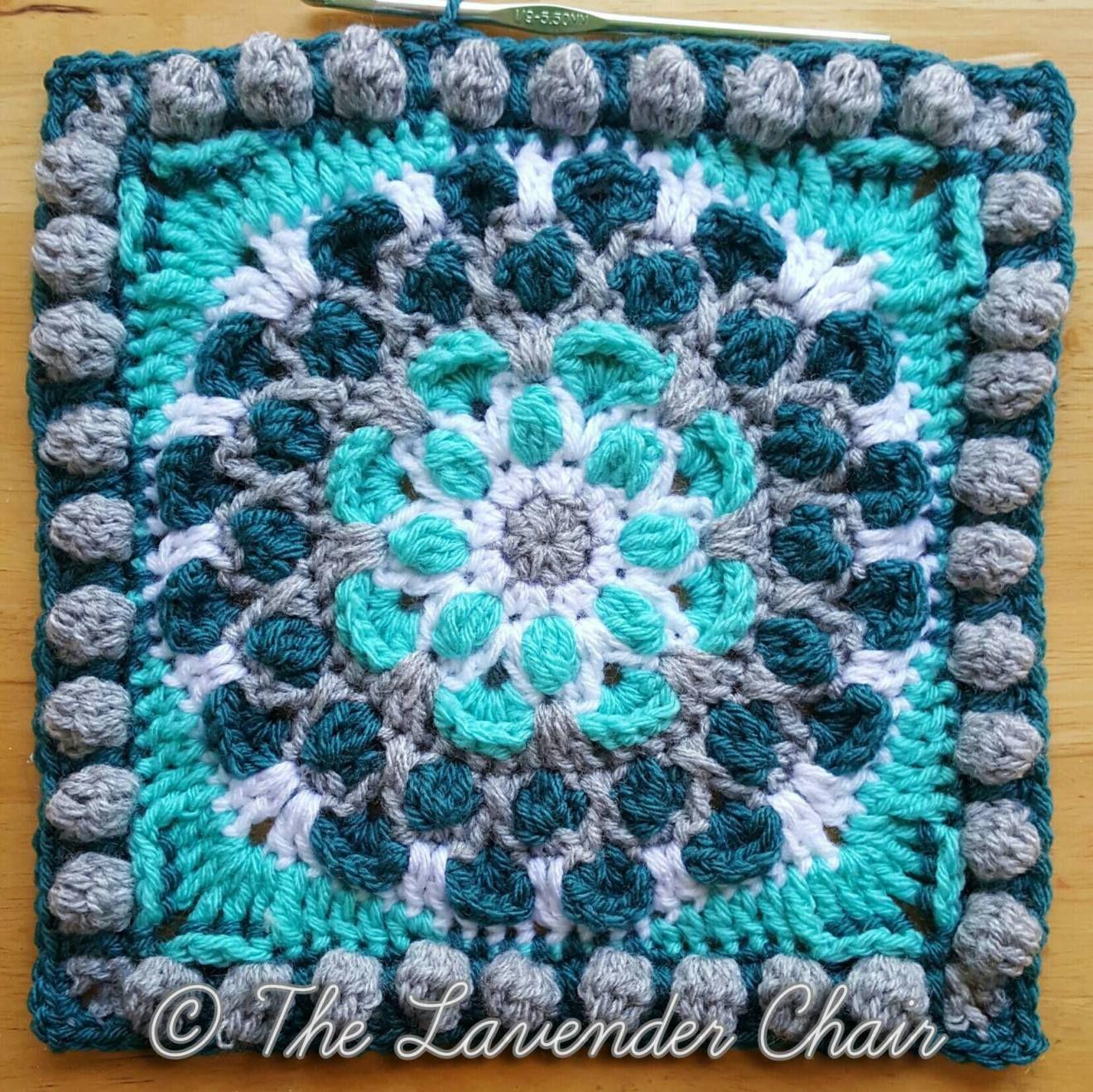 Cascading mum mandala square free crochet pattern the lavender cascading mum mandala square free crochet pattern the bankloansurffo Image collections