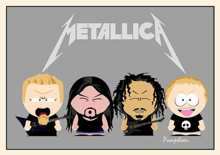 South Park Metallica | Art & Stuff in 2019 | Metallica tattoo