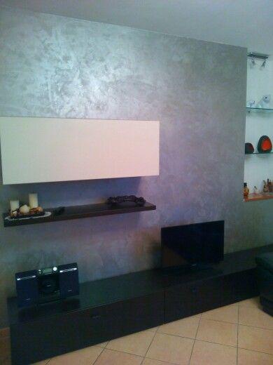 oikos ottocento effetto velluto decorazioni pareti