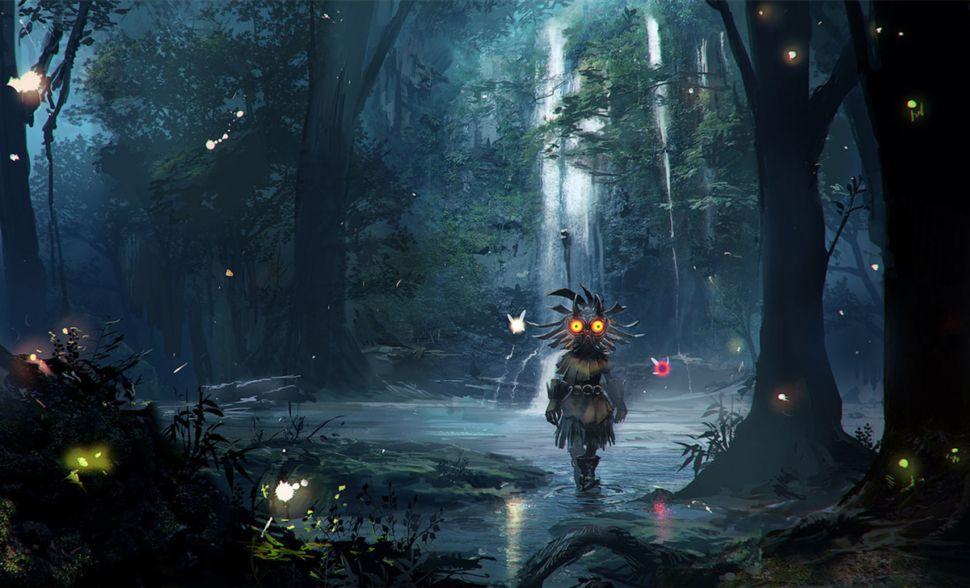 Related Image Majoras Mask Legend Of Zelda Background Images