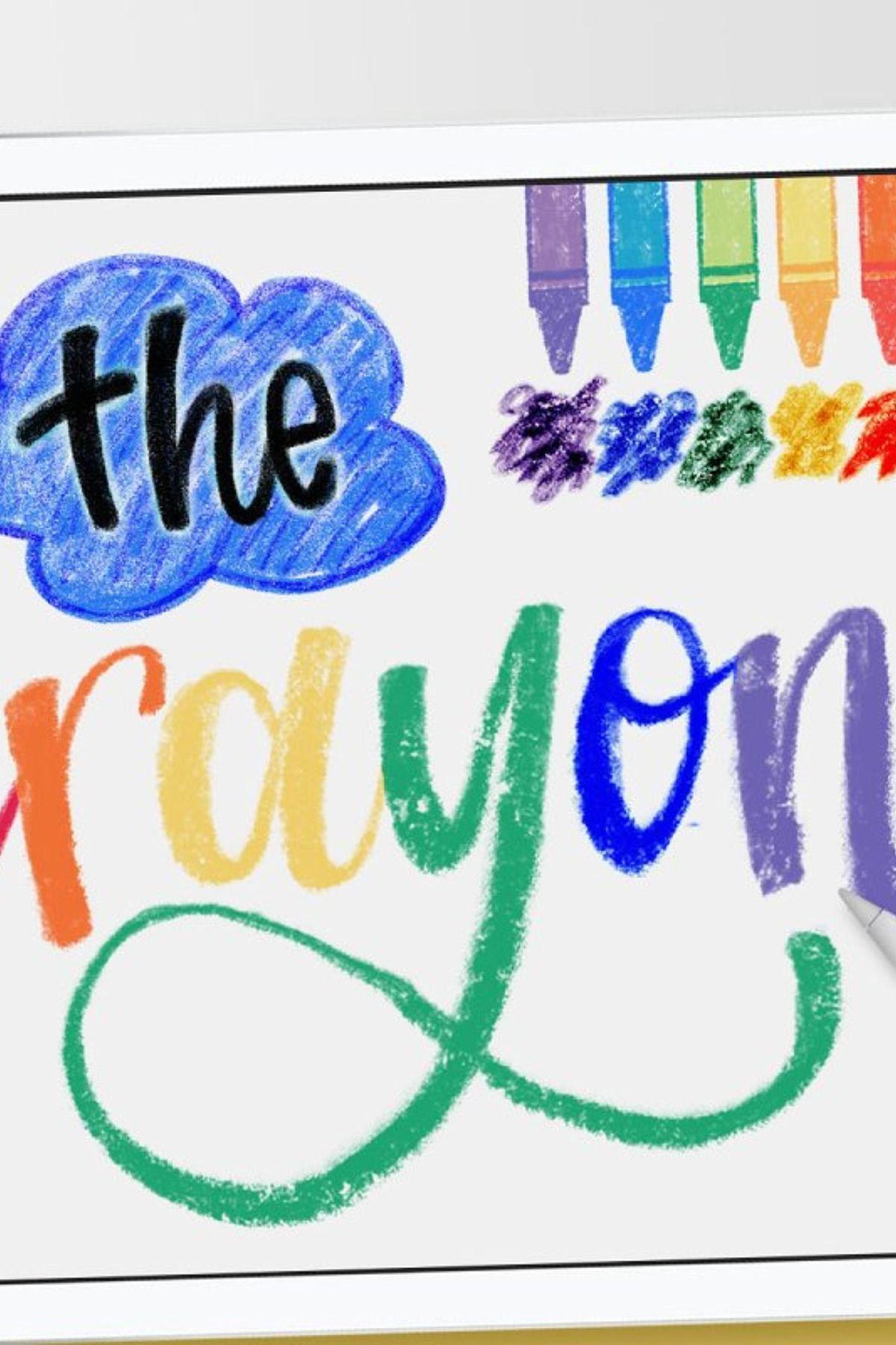 Crayon Procreate Brushes Procreate Brushes Procreate Brushes