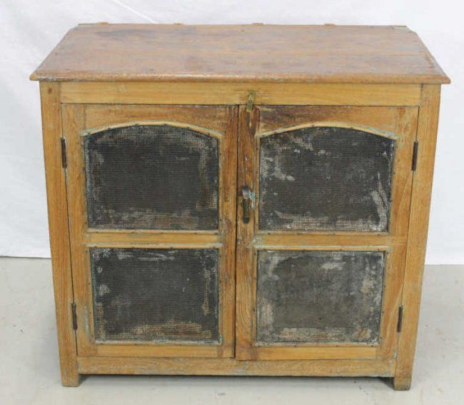 Antique Kitchen Cupboard Pie Safe Mar 30 2014 Kenneth Hutter Auctions In Ny Antique Kitchen Cupboard Pie Safe Antique Kitchen