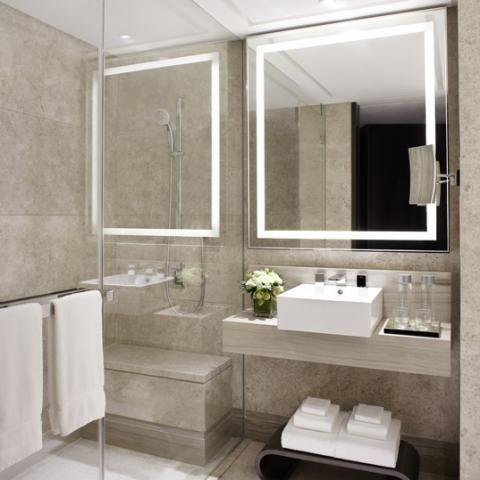 Hirsch bedner associates marriott singapore bathroom - Bathroom cabinets singapore ...
