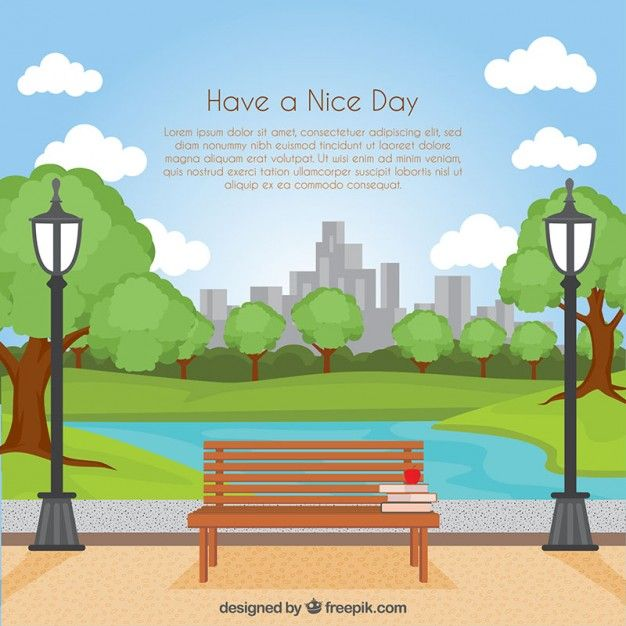 Download Have A Nice Day Background For Free Vector Free Backgrounds Free Spring Landscape