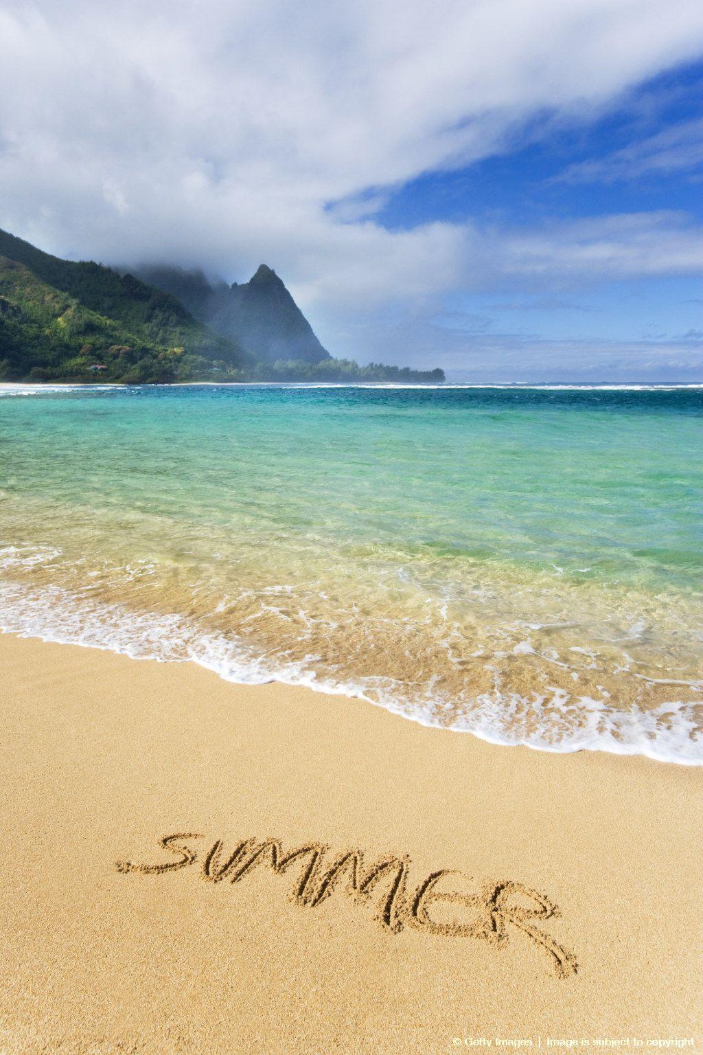 "Hawaii, Kauai, Haena Beach ""Tunnels Beach"" Beach, Beach"