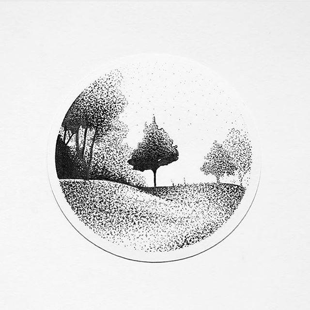 Pin By Emmanuel Villanueva On Texturas Dotted Drawings Stippling Art Fineliner Art