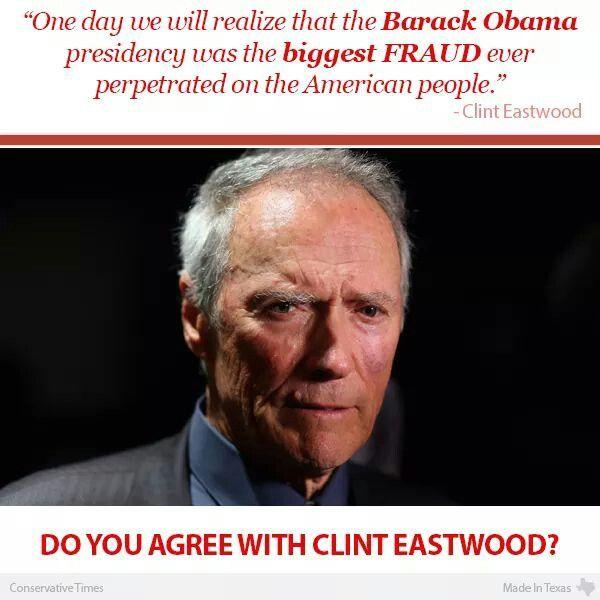Tell em Clint!!!