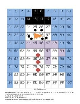 this 100 chart helps students increase their number recognition skills differentiation is a. Black Bedroom Furniture Sets. Home Design Ideas
