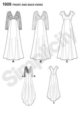 № 2/2012 Simplicity Special 1909   Dresses Simplicity&New Look ...
