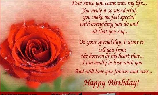 Beautiful Birthday Wishes For Wife