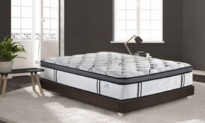 groupon sampur matelas grand view ressorts ensach s accueil m moire de forme avec ou sans. Black Bedroom Furniture Sets. Home Design Ideas