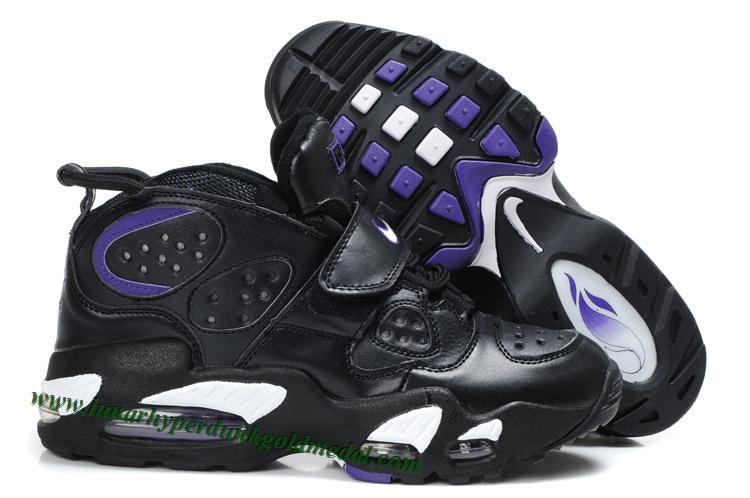New Nike Air CB 34 Charles Barkley Shoes Black Purple