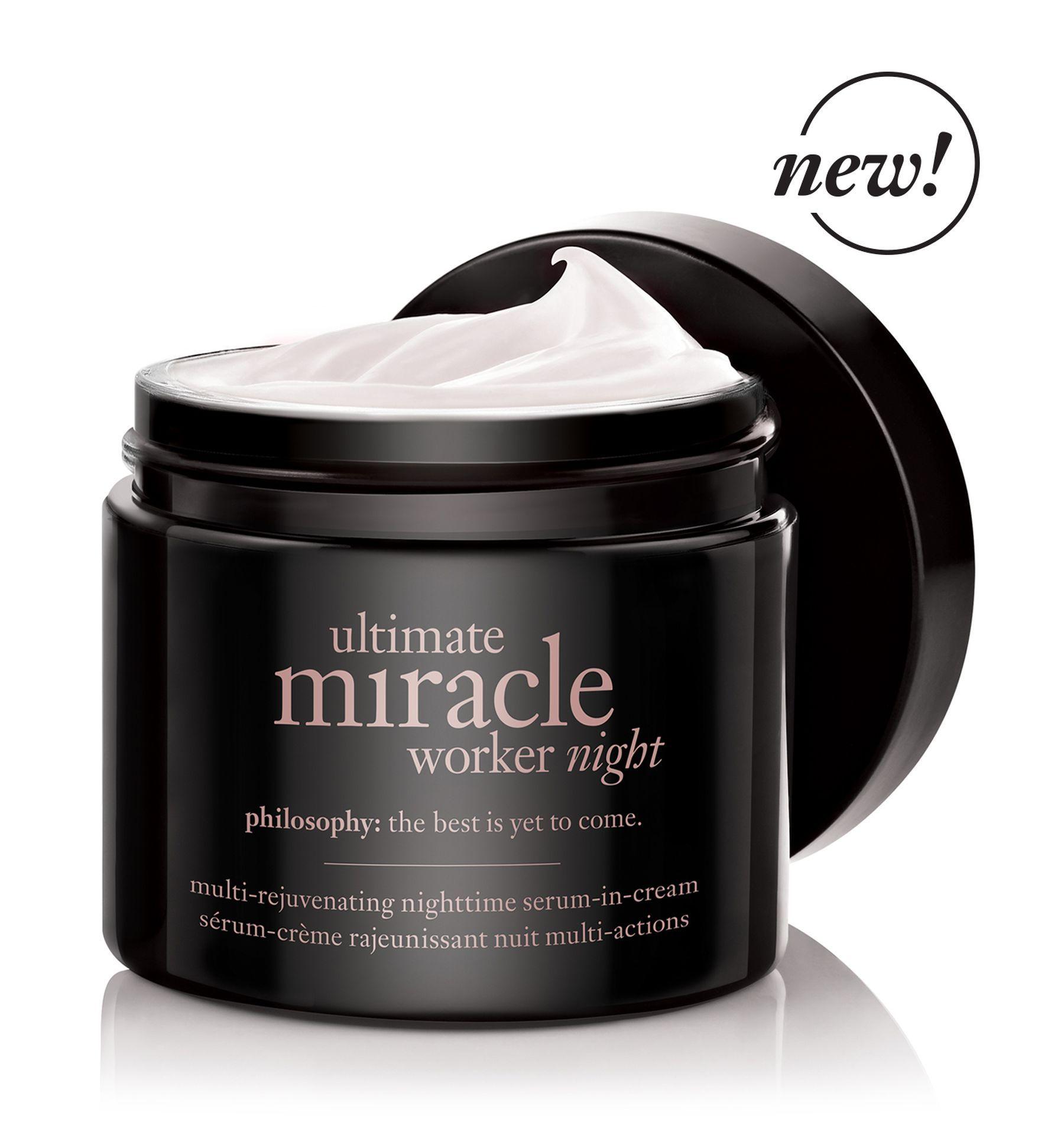 Ultimate Miracle Worker Night Overnight Moisturizer Night Serum Night Creams