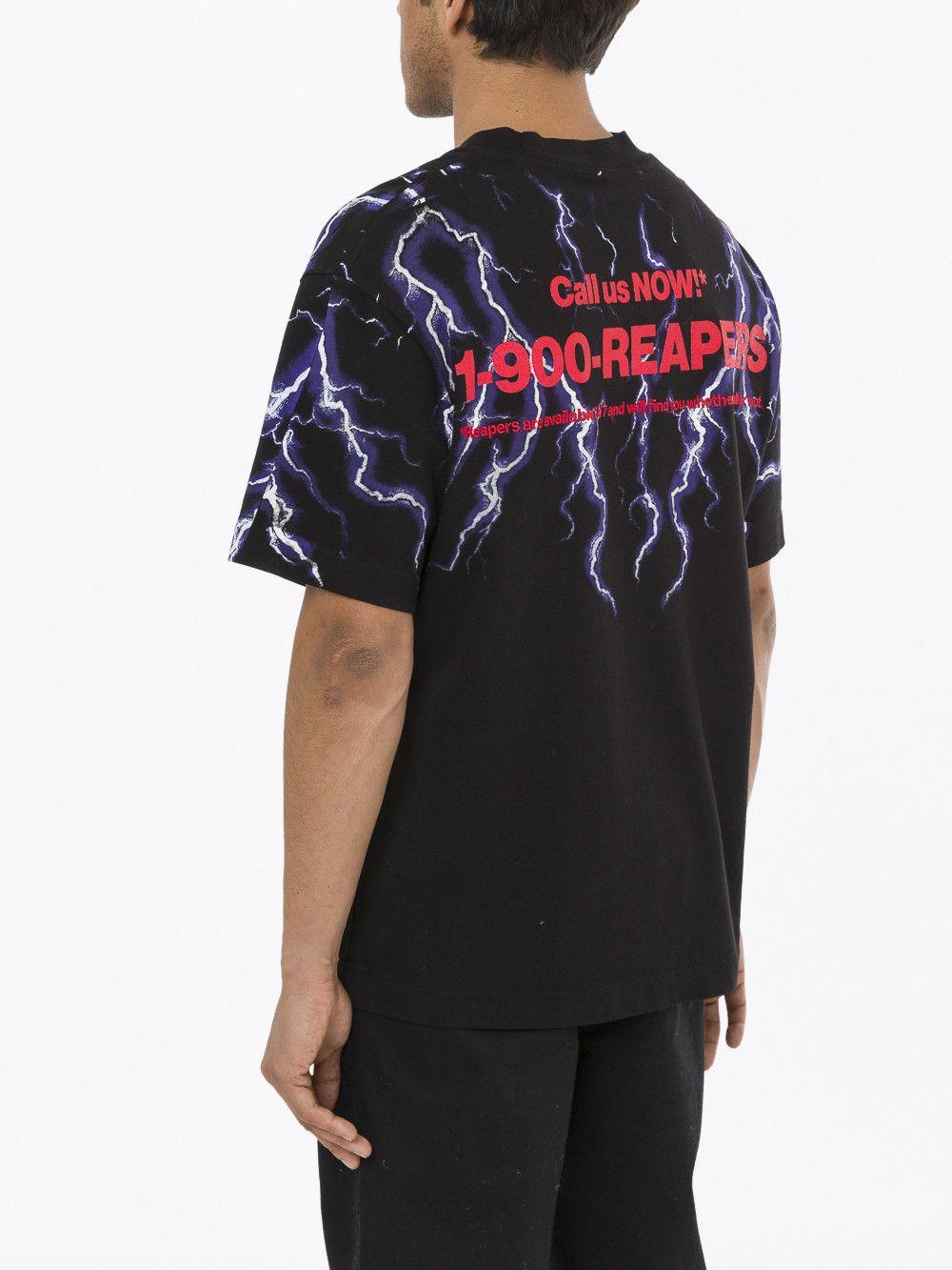 7da1ae82 ALEXANDER WANG Lightning Collage Short Sleeve Tee. #alexanderwang #cloth #