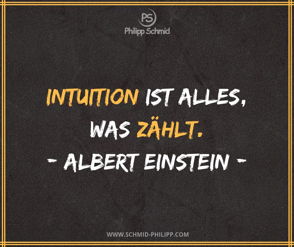 Intuition Ist Alles Was Zahlt Albert Einstein Impulsdestages Spruchdestages Zitatdestages Wahreworte Zi Intuitions Zitate Einstein Zitate Intuition