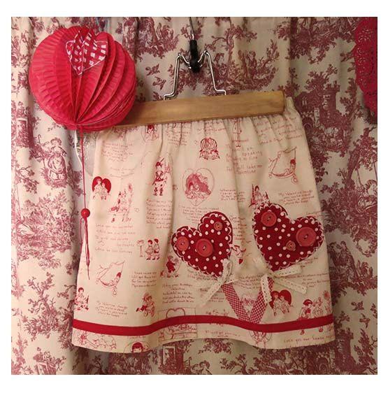 My Sweet Valentine by FreckledChicken on Etsy, $32.00
