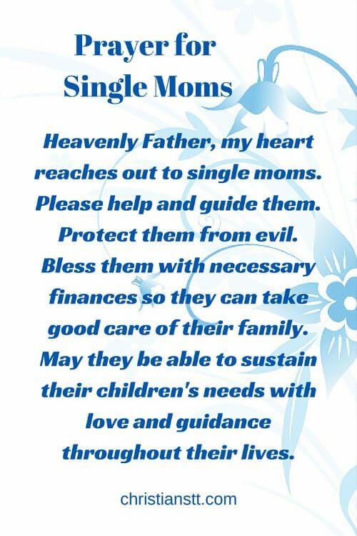 A Powerful Prayer For Single Moms  Powerful Prayers Daily Prayer