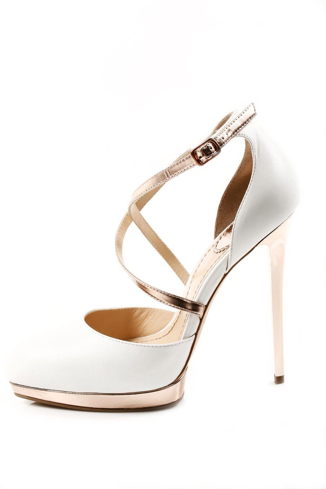 Leather Stiletto Pump   Chic high heels