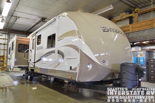 """""""IT WAS GREAT TO DEAL WITH STUART, MATT, CYNDI & JAKE. THE STAFF, FROM THE SERVICE DEPARTMENT TO EVERYONE ELSE, WERE VERY PROFESSIONAL AND FRIENDLY IN HELPING US WITH OUT NEW PURCHASE! GILLETTES WILL BECOME OUR RECOMMENDED DEALER AFTER MEETING AND SPEAKING WITH THIS GREAT STAFF! KAREN AND I MEET HUNDREDS OF CAMPERS EACH YEAR, WHERE I WORK SECURITY, SO OUR FRIENDS WILL HEAR ALL ABOUT OUR EXPERIENCE AT GILLETTES WHILE WERE TRADING STORIES AROUND THE CAMPFIRE! -Jim & Karen Concord, MI"""