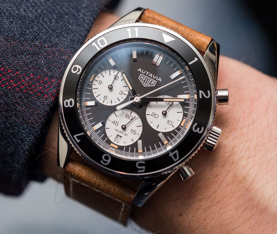 66ff8959809 Hands-On with the new TAG Heuer Autavia Heuer 02 - which people all around  the world had the opportunity to design. All the vintage appeal with an  fresh ...