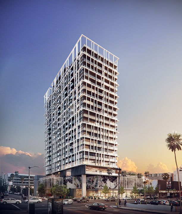 Hollywood + Gower Residential Tower HKS Architects, Inc