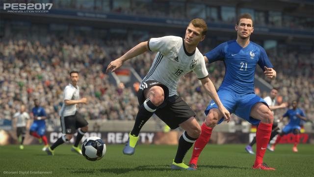 Pes 2017 Football Simulation Not Football Game R Soccer Pro Evolution Soccer Pro Evolution Soccer 2017 Evolution Soccer