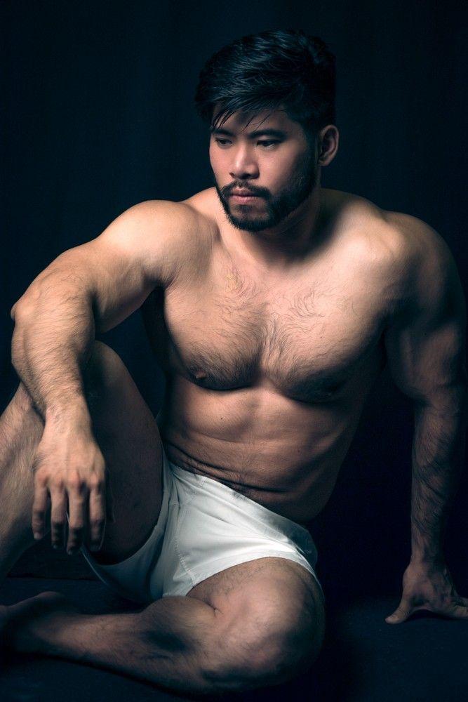 Hairy bear asians