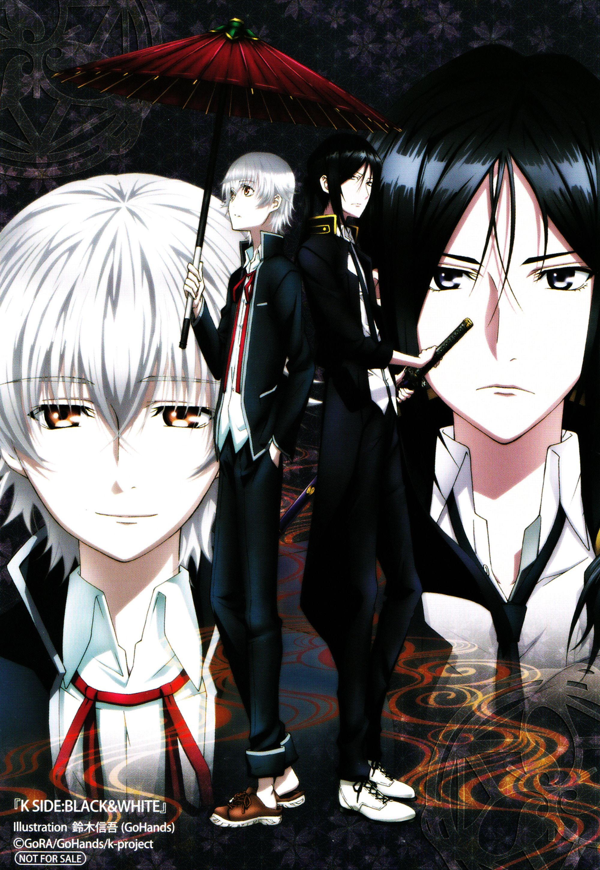 K Project Kuroh Shiro K Project Anime K Project Anime