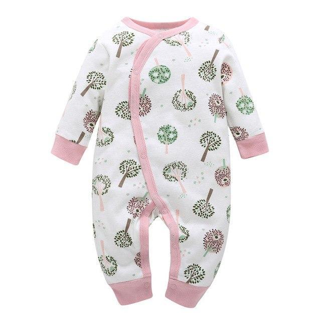 21ad722ce227 2018 New Newborn Jumpsuit Cartoon Spring Winter Long Sleeved Romper ...