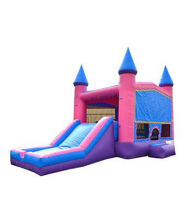 Look what I found on #zulily! Princess Bouncy House & Slide #zulilyfinds