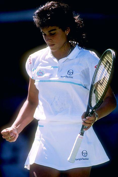 Gabriela Sabatini Tennis Players Female Tennis Shirts Tennis
