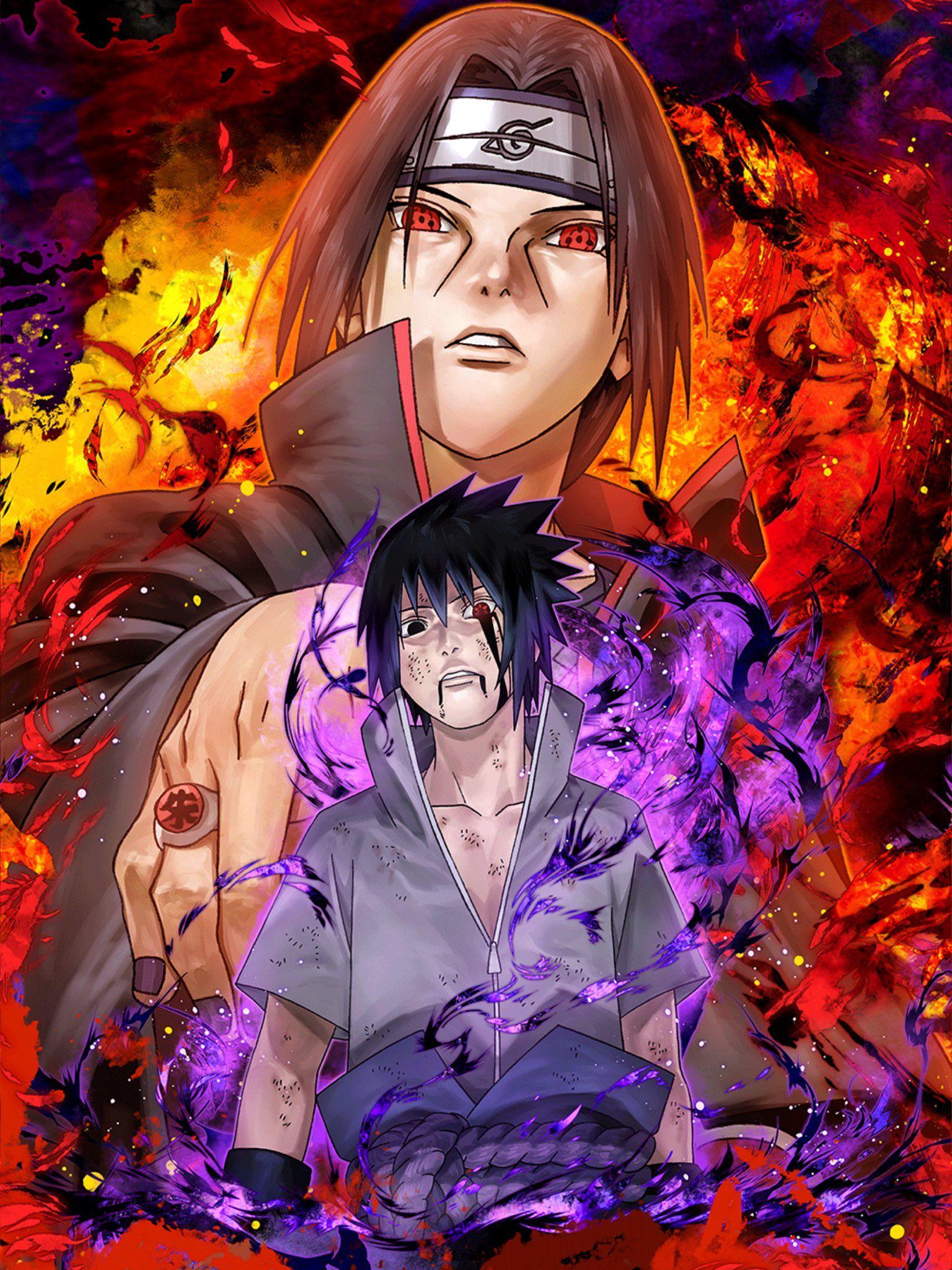 Marc Rodney Malana On Twitter Itachi Uchiha Art Sasuke And Itachi Naruto And Sasuke Wallpaper