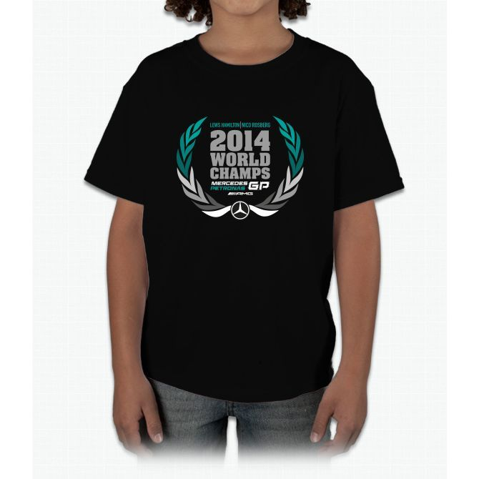51231400c Limited Edition | F1 World Champ Shirts! Hamilton Young T-Shirt ...