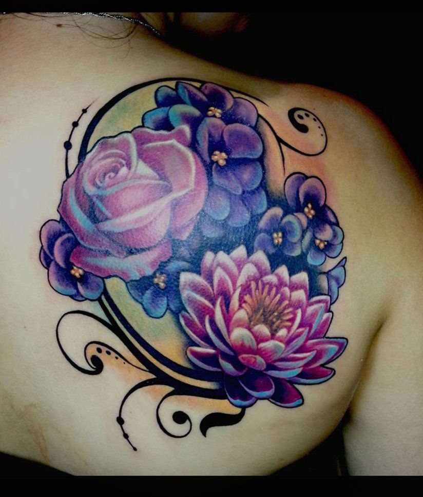 flower coverup by theartofrain peony tattoos pinterest fett m hren und k rper. Black Bedroom Furniture Sets. Home Design Ideas