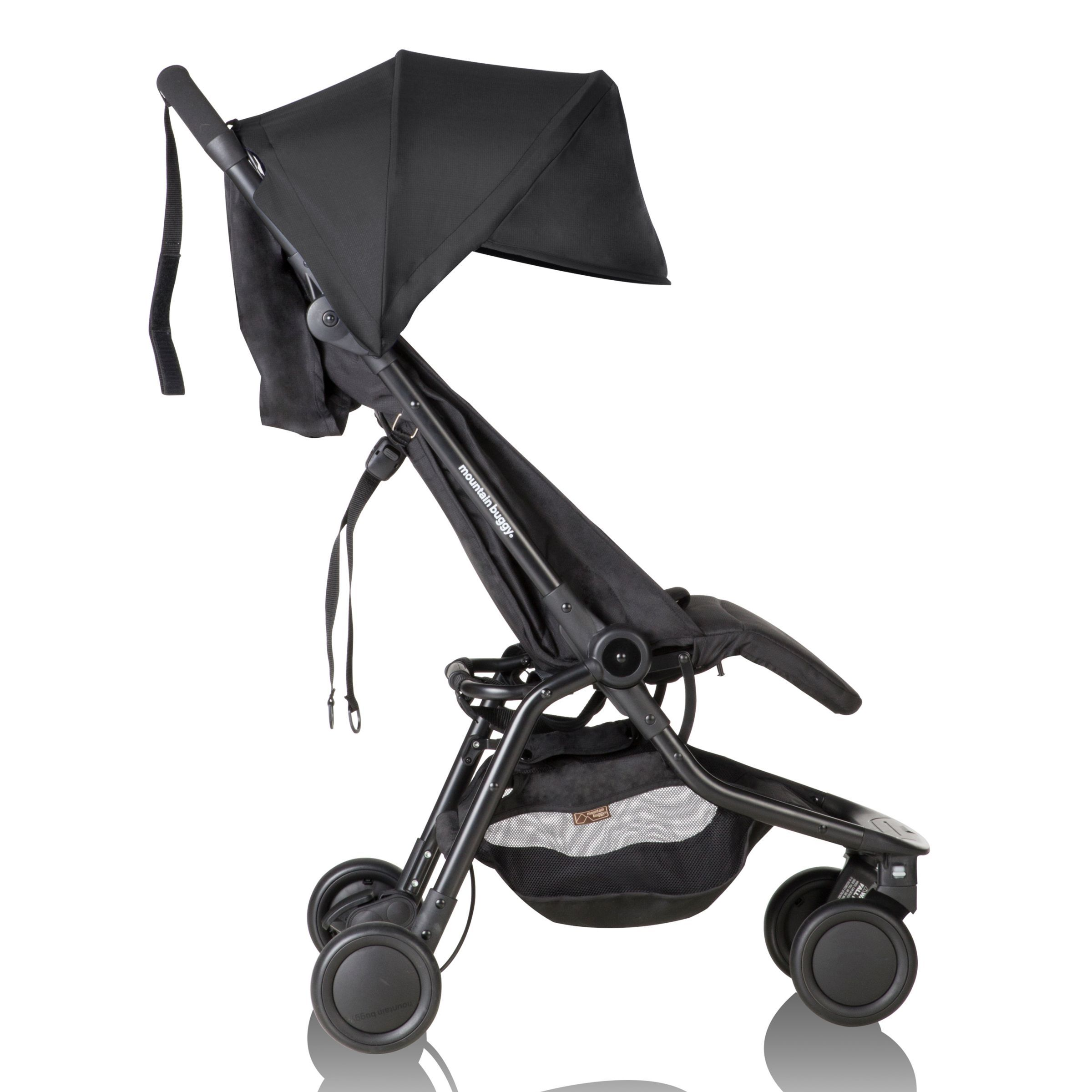 Mountain Buggy Nano V2 Stroller, Black Mountain buggy