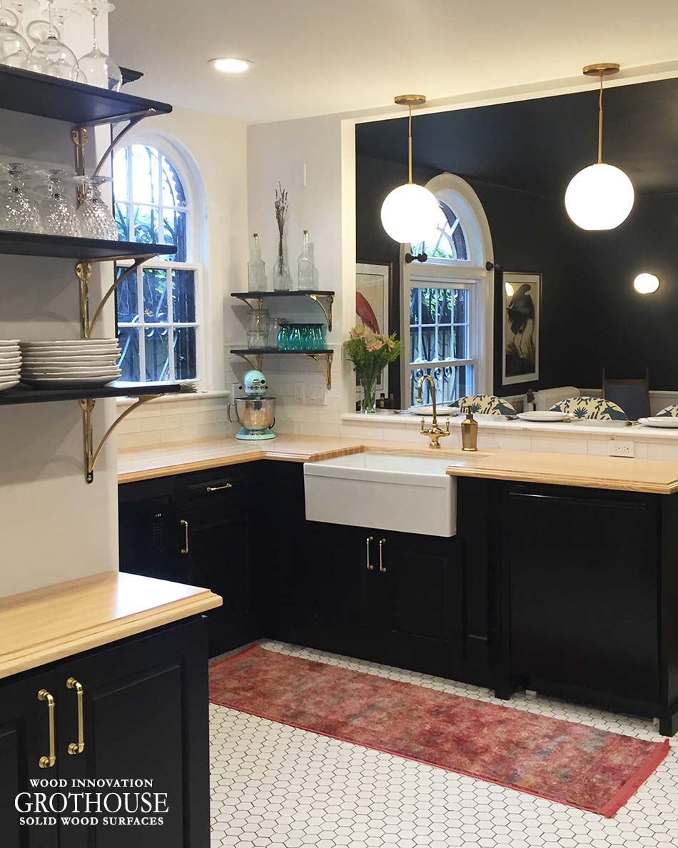 Black Ash Kitchen Cabinets Farmhouse