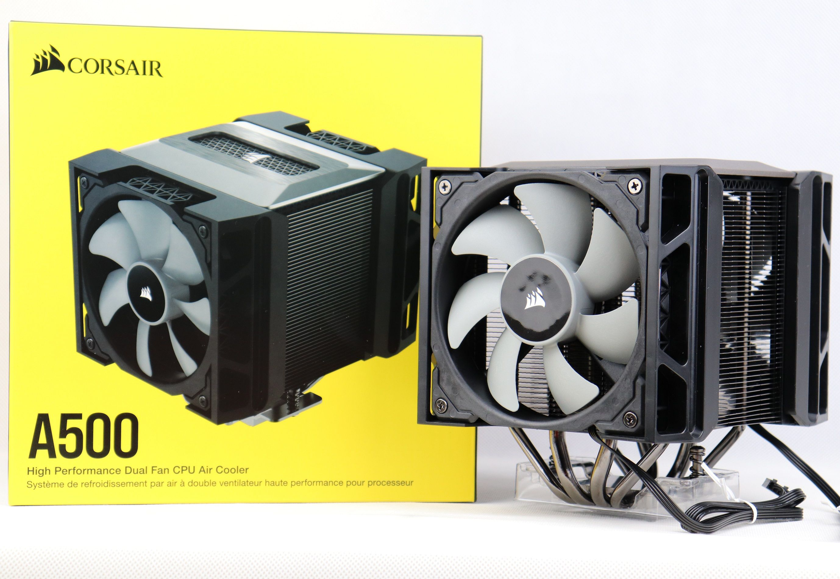 Corsair A500 Cpu Cooler Unboxing And Review In 2020 Unboxing Cooler Air Cooler